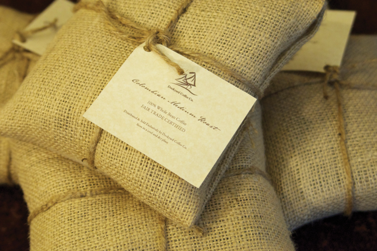 Dockyard Coffee Co. Project - Coffee Bean Bag Design