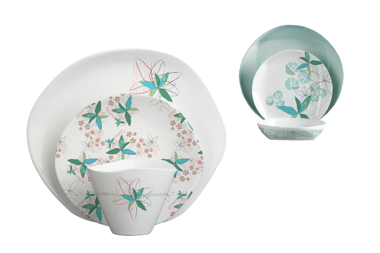 Dinnerware Pattern Design