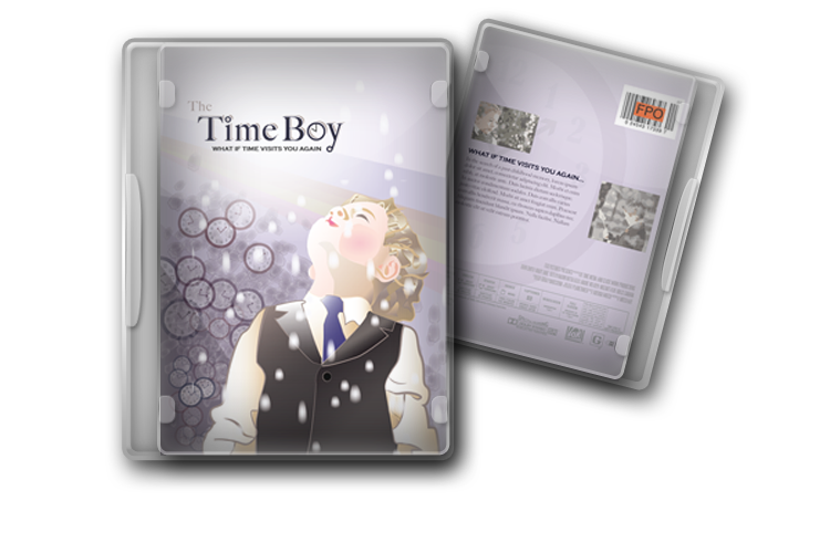 Timeboy DVD Cover Package Design